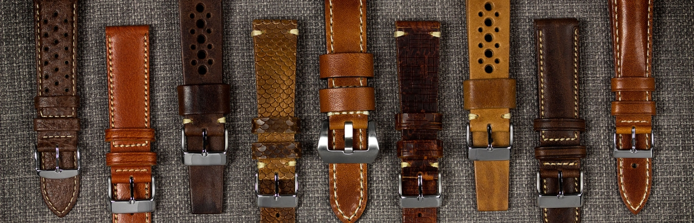 How are watch straps made?
