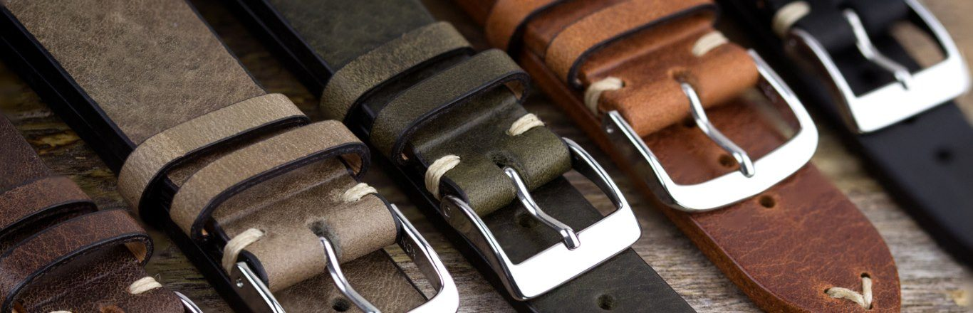 Leather Watch Straps & Leather Watch Bands (Part 1)