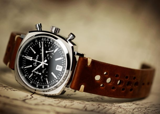 Win a Racing Chronograph this month!