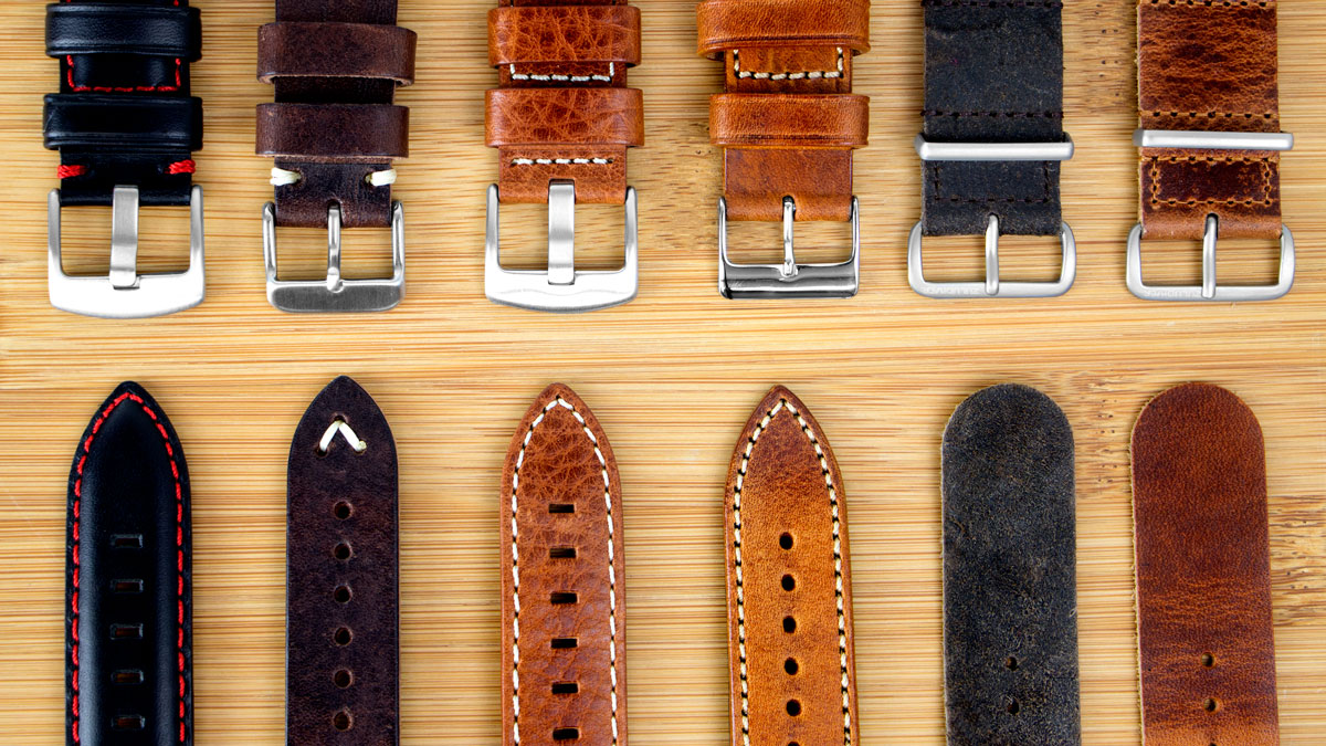 Types Of Watch Bands >> Leather Watch Straps Leather Watch Bands Part 1 Watchgecko