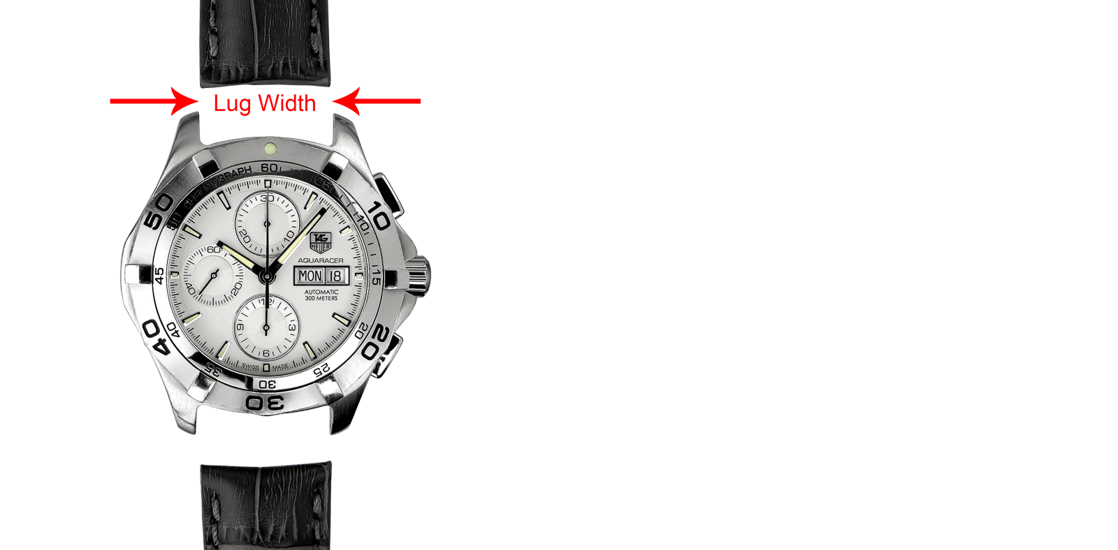 a9c4cee84 Selecting the correct TAG Heuer watch strap is straight forward and can be  done in three simple steps.