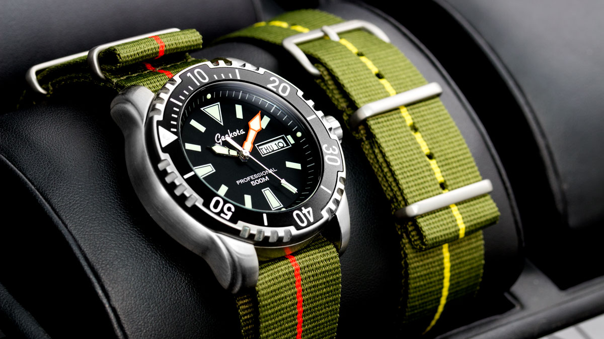 0fd4ff95b5a NATO watch straps offer amazing value