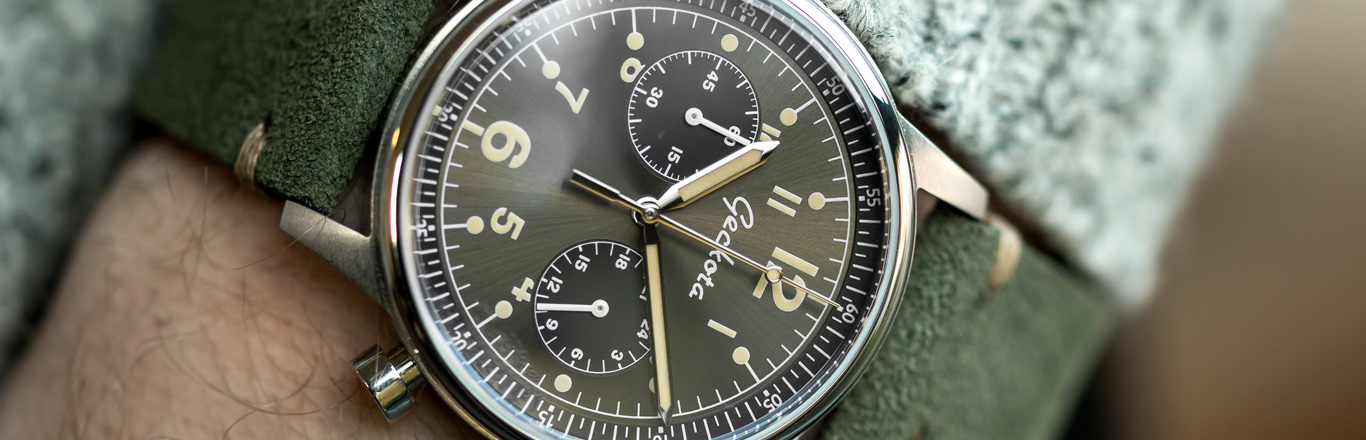 The Military Chronograph Wristwatch
