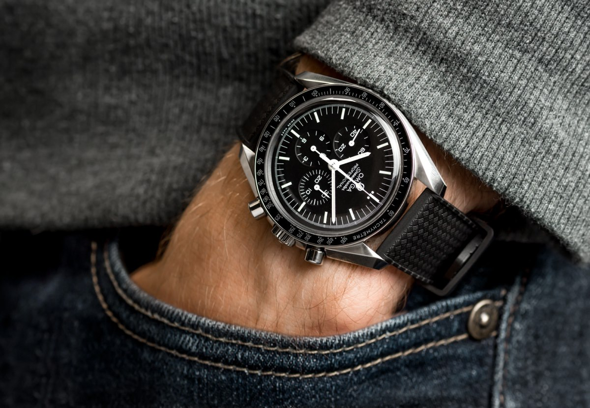 A Year With The Omega Speedmaster Hands On Review Watchgecko