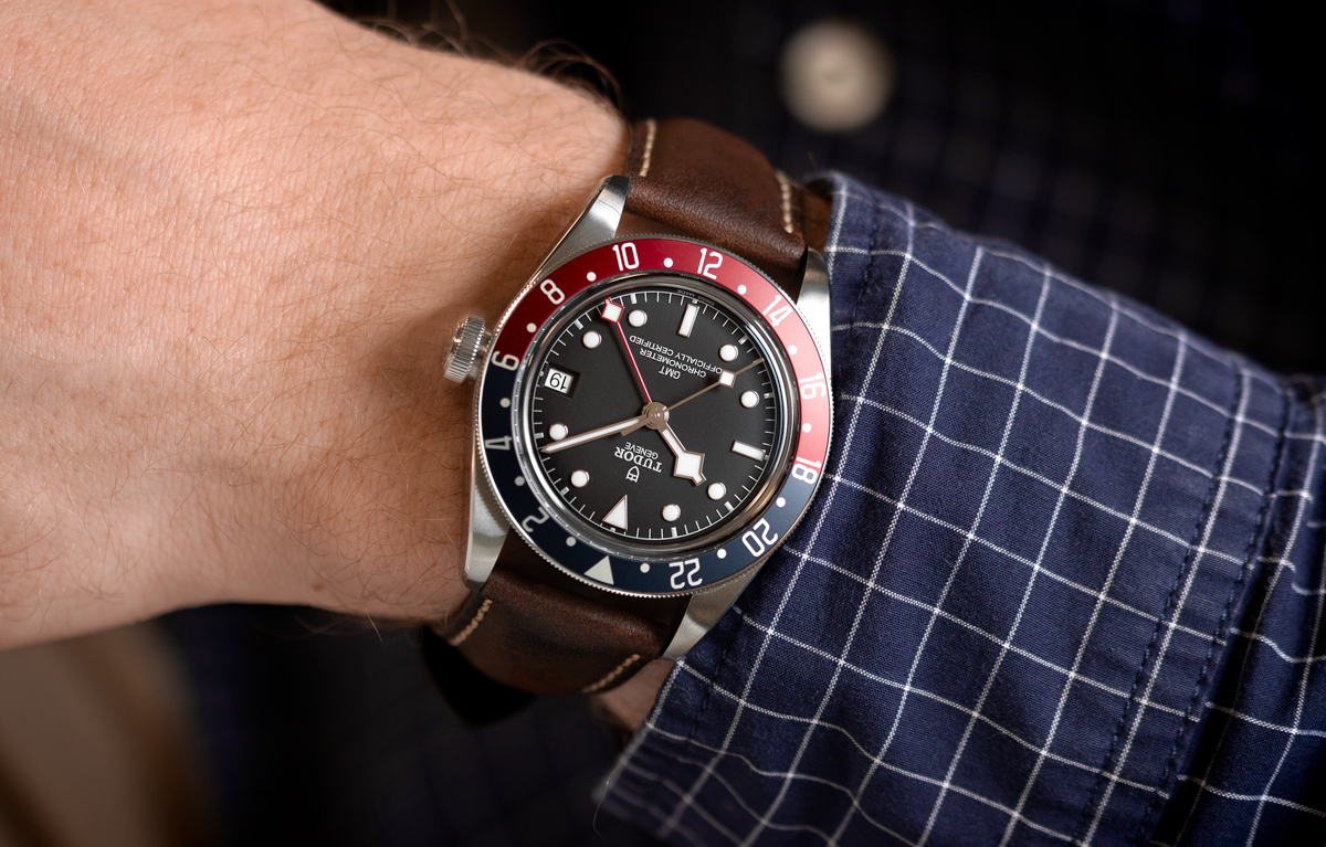 The Tudor Black Bay Gmt Hands On Review Strap Suggestions