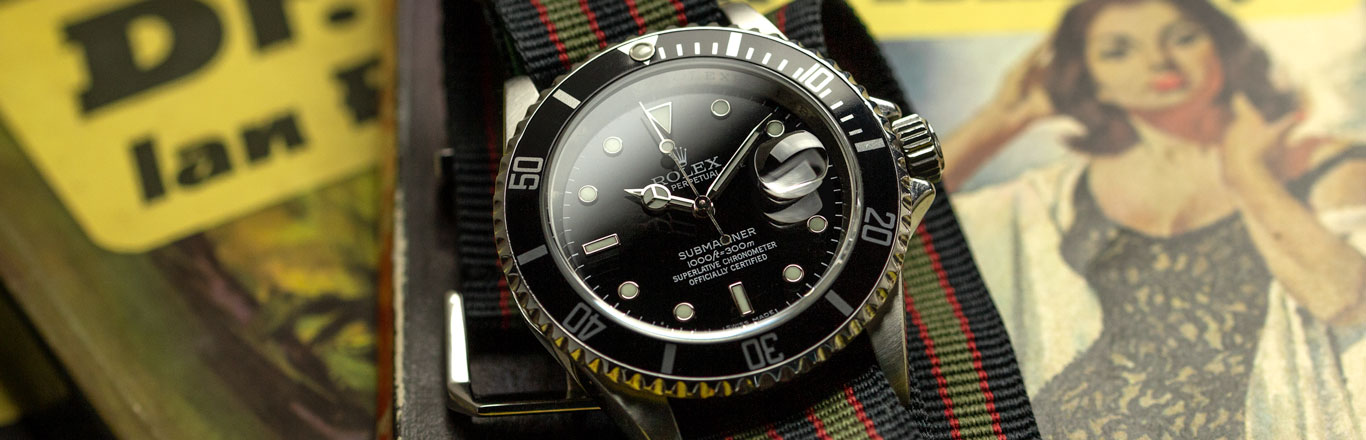 The Real Watches of James Bond - A  Legacy of Ian Fleming's Rolex