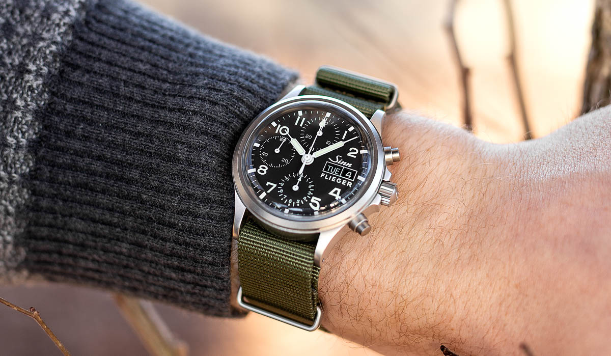 The Sinn 356 Pilot Chronograph Review - A Sub 40mm
