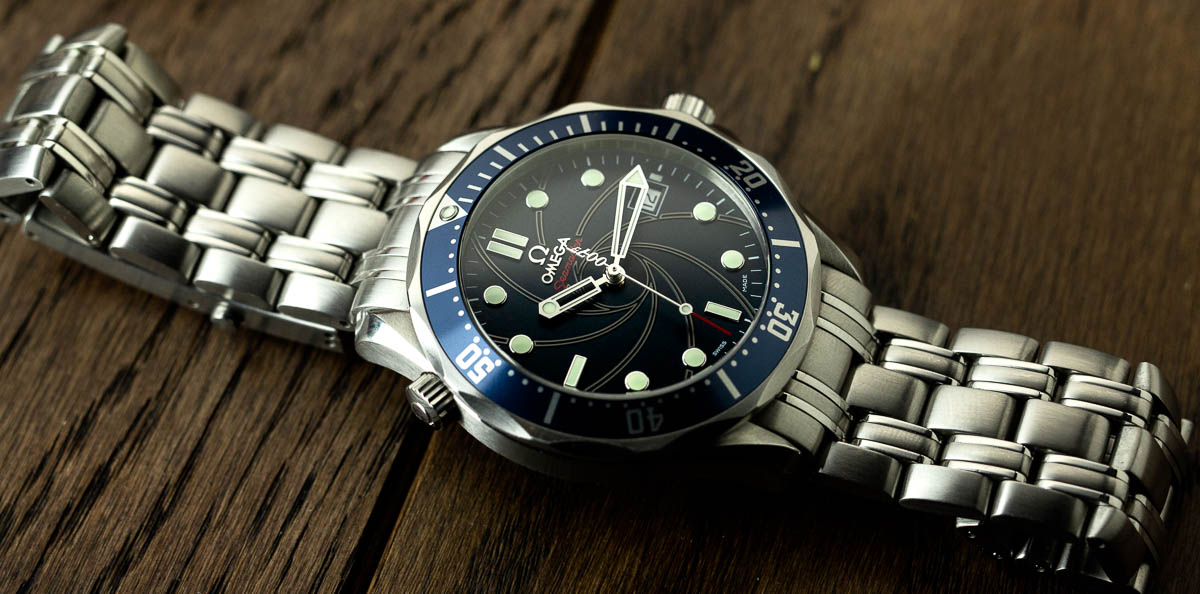 The Omega Seamaster Professional Co-Axial 007 James Bond