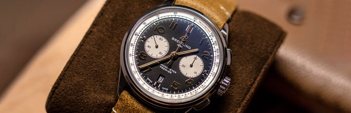 Hands On The Breitling Premier B01 Chronograph 42 Norton 2019 - Breitling Baselworld 2019