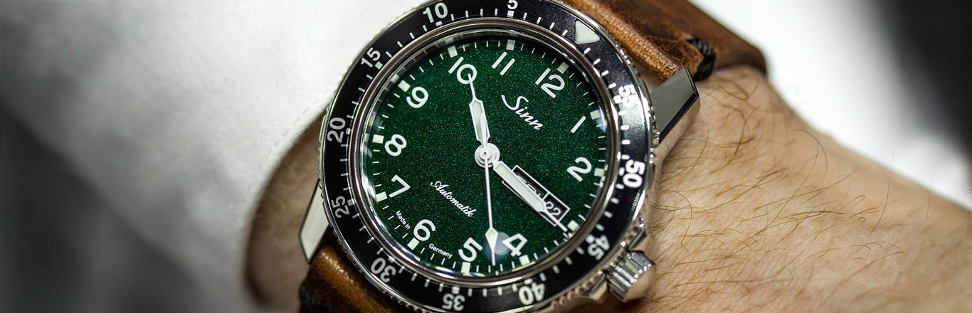 Hands On With The Sinn 104 Green Dial Limited Edition - Baselworld 2019