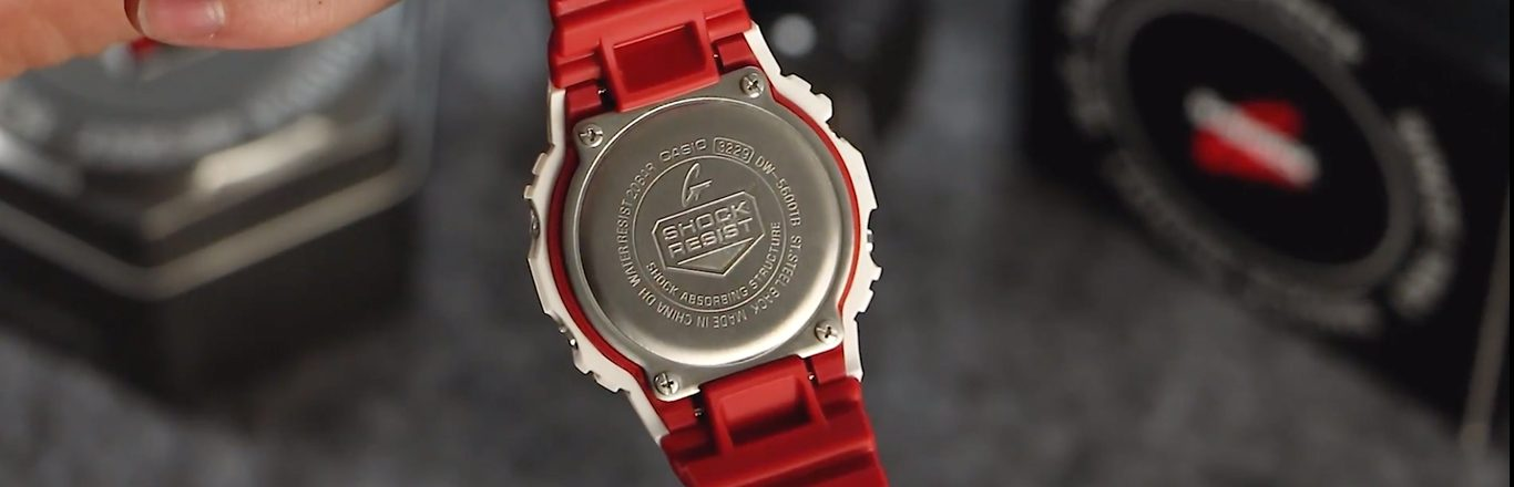 Video Casio G Shock Dw 5600tb 4aer 35th Anniversary On The Wrist