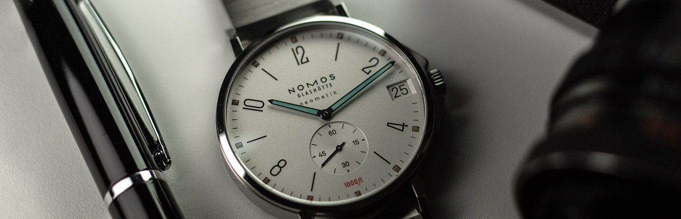 The NOMOS Tangente Sport Neomatik 580-A New Type of Sports Watch