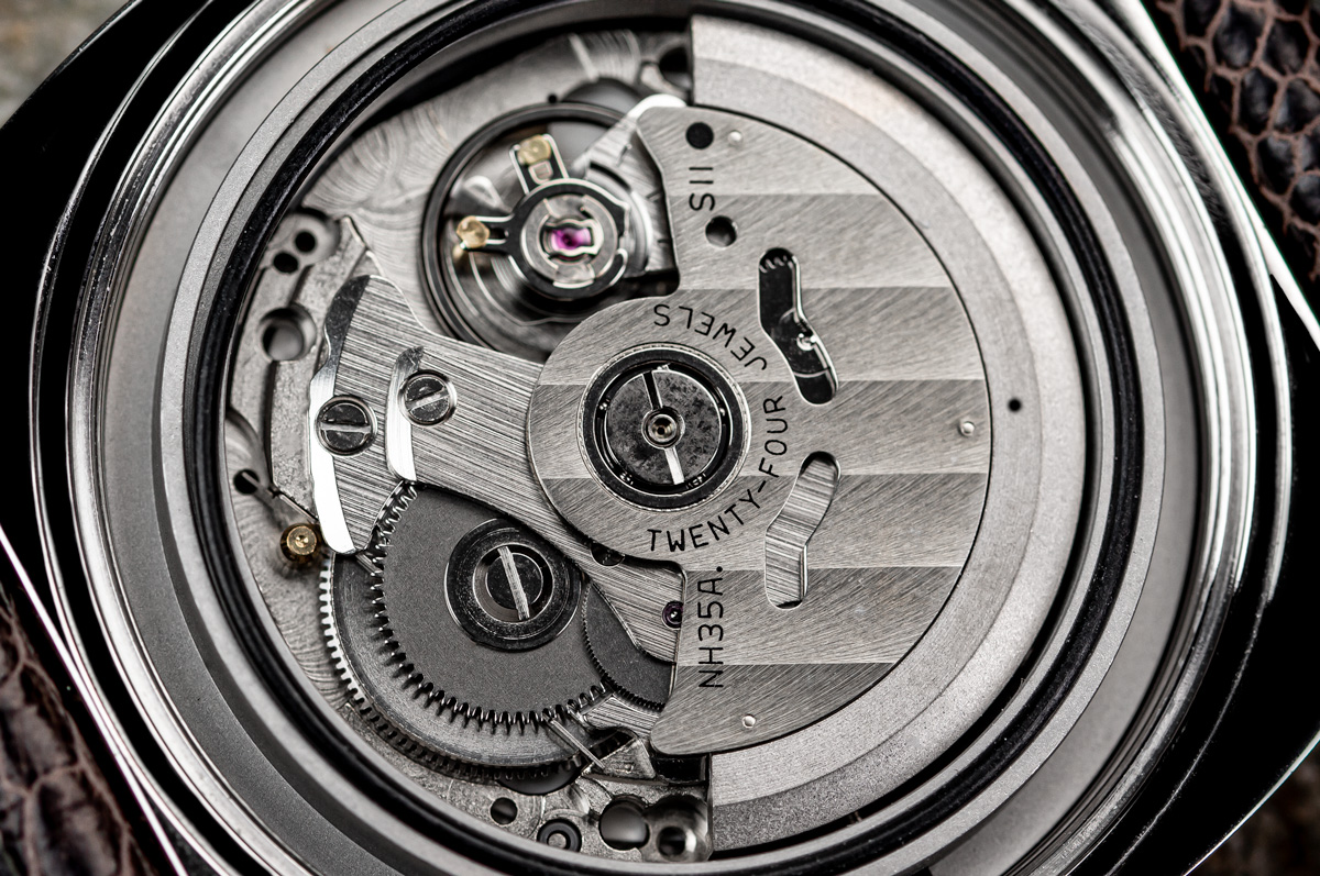 the Seiko NH35/NH35A Automatic watch movement