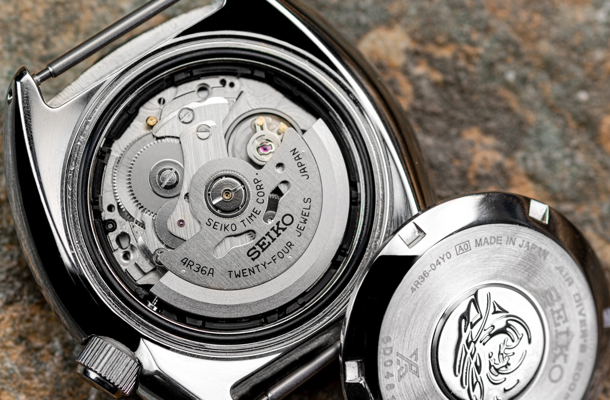 the Seiko 4R36 Automatic watch movement