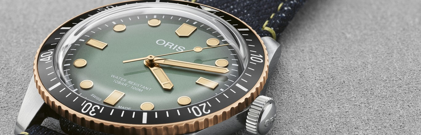 Introducing the Divers Sixty-Five by Oris and Momotaro