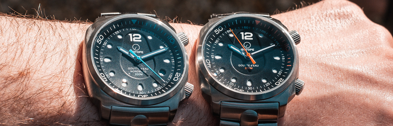 Introducing the Isotope Goutte d'Eau Watch