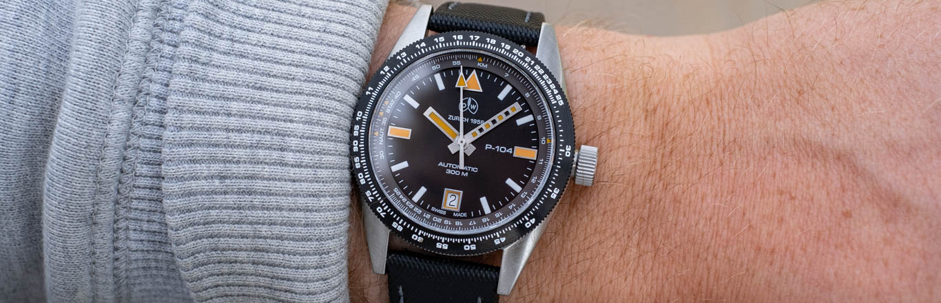 The Ollech & Wajs P104 Watch Review - Historical Touches Meets Modern Reliability