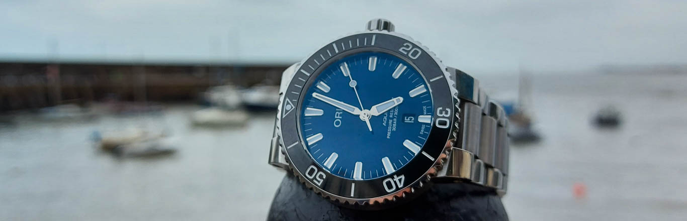 A Personal Connection To An Oris Aquis Diver