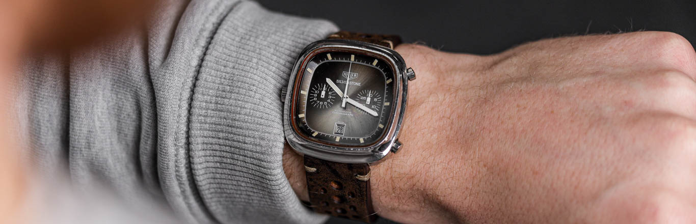 The Story of the Heuer Silverstone Watch