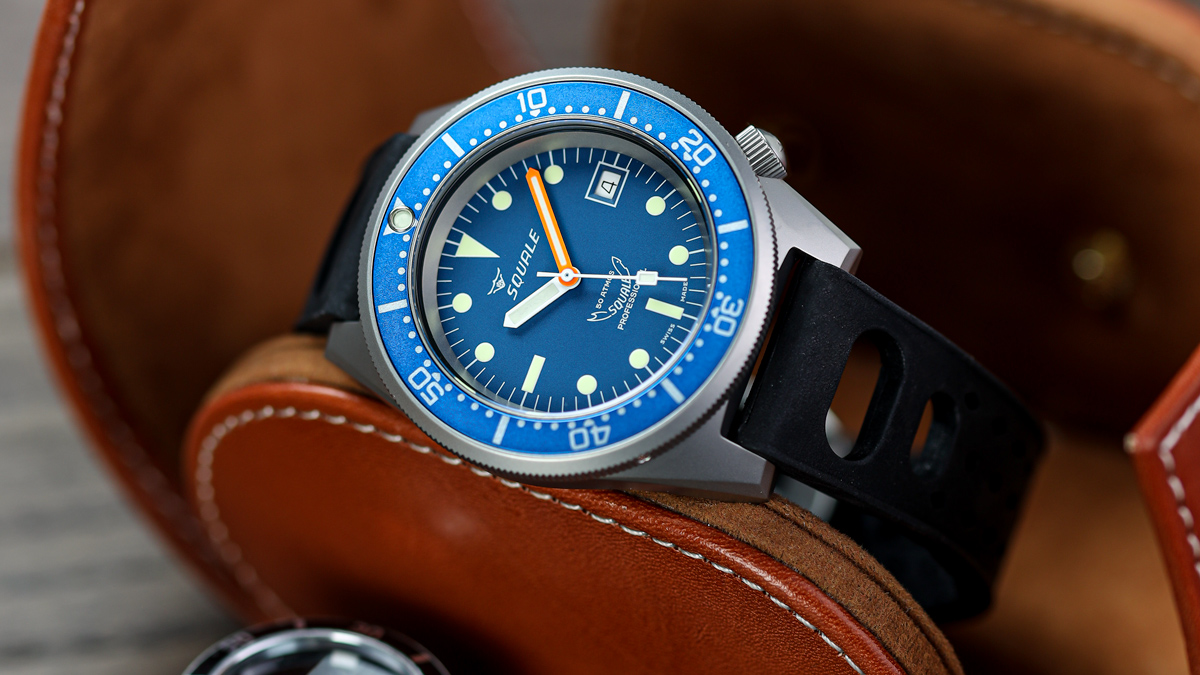 The Squale 1521 Swiss Made Divers Watch from WatchGecko